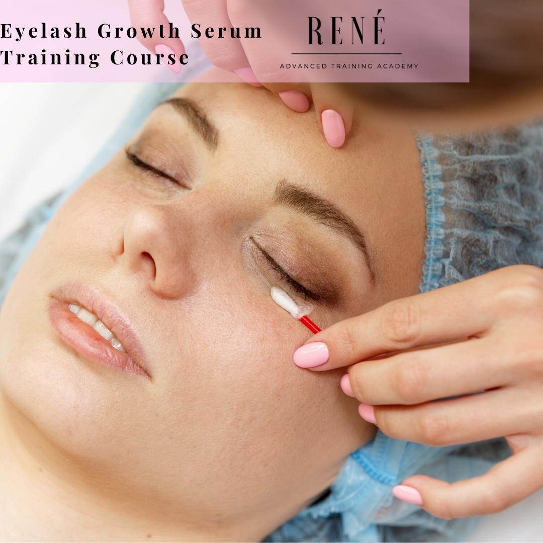 Online Eyelash Growth Serum Training